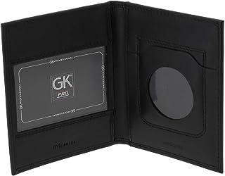 GK Pro Porte carte 2 volets 4184 - Noir