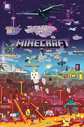 GB Eye LTD, Minecraft, World Beyond, Maxi Poster 61x91,5cm