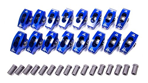 Scorpion Racing Products 1002-1 Single Roller Rocker Arm SBC 1.6 Ratio 3//8 Stud