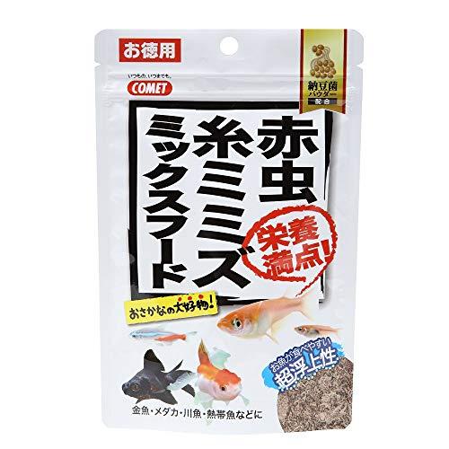 コメット 徳用 赤虫・糸ミミズ ミックスフード納豆菌 21g