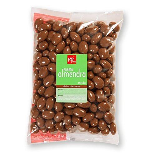 Bombón almendra con chocolate con leche 1 kg