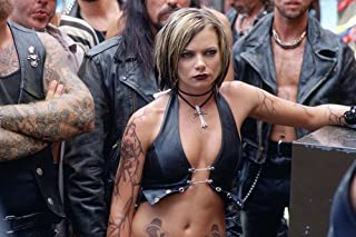 Jaime Pressly Sexy in Black Open Top Huge Cleavage and Tattoos! 11x17 Mini Poster