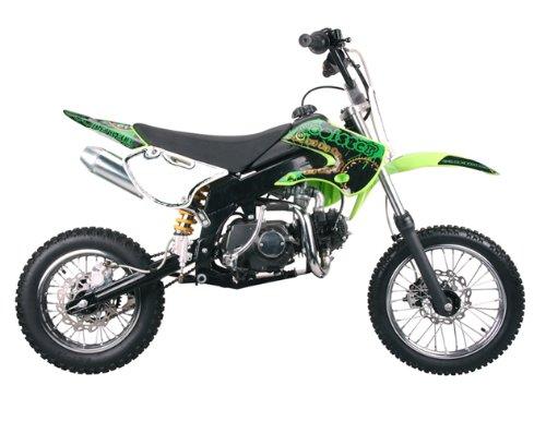 Dirt bike 125cc Semi Auto Clutch, Green