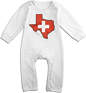 TYLER DEAN Toddler Baby Boy Girl Jumpsuit Canada Flag Texas Map Baby Clothes