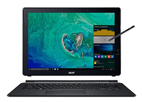 Acer Switch 7 Black Edition, 13.5' 2256 x 1504 Touch, 8th Gen Intel i7-8550U, 16GB LPDDR3, 512GB SSD, Windows 10 Pro, Acer Active Stylus, SW713-51GNP-879G