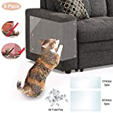 VSTON Furniture Protectors from Cats, Scratch Protection Tapes for Pet 9 Pieces Couch