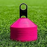 FORZA Markierungshütchen – Multi-Sportarten Training Markierungsteller und Halter