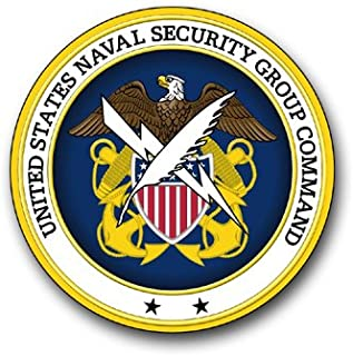 US Navy Naval Security Group Command Military Veteran Served Window Bumper Sticker Vinyl Decal 3.8