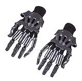 Cosplaybala Violet Evergarden Cosplay Prop Shuko ABS Finger Glove (One Size, Dark Grey)