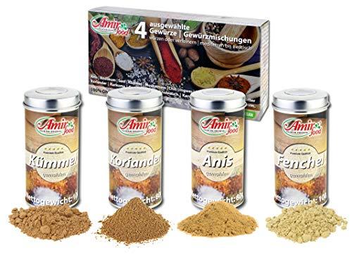 Brotgewürz nach Bayrischer Art Gemahlen – 360g in aromadichten Metall-Dosen - Gewürzmischung zum Zubereiten von selbstgemachtem Brot ohne Zusatzstoffe – inkl. Geschenkverpackung.