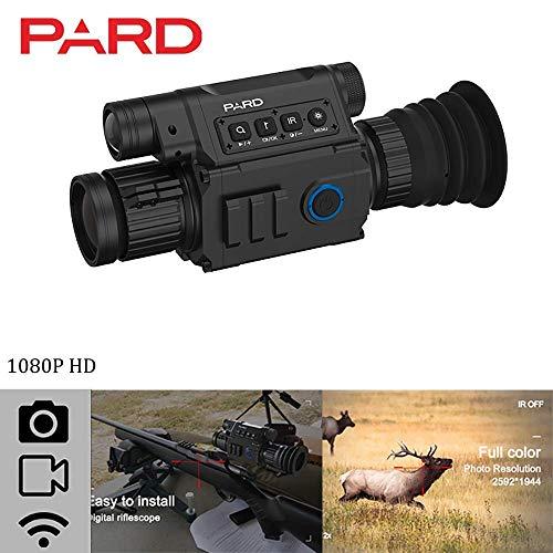 ningfulu101 Nachtsichtgerät, Pard NV008 Reichweite 200 m 1080 P Nachtsicht-Infrarot-IR-Kamera HD Digitale Nachtsichtgeräte für die Jagd Sicherheit - 2019 Verbessert