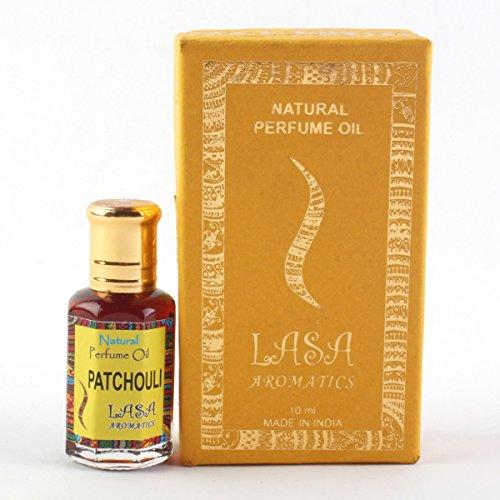 Lasa Aromatiques Parfum Naturel De Patchouli D'Huile Parfum 100% Pures Et Naturelles - 10 ml