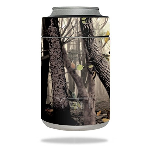 MightySkins Skin Compatible with YETI Colster - Tree Camo | Protective, Durable, and Unique Vinyl Decal wrap Cover | Easy to Apply, Remove, and Change Styles | Made in The USA