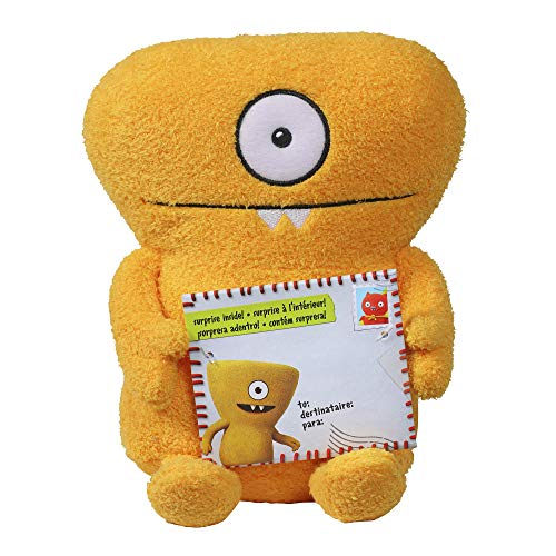 Hasbro Sincerely Uglydolls Hugs & Headstands Wedgehead Stuffed Plush Toy, Inspired by The Uglydolls...