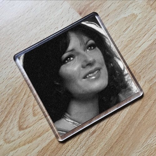 ANNI-FRID LYNGSTAD - Original Art Coaster #js002