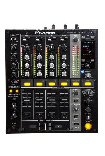Pioneer DJM-700-K mezclador DJ - Mezclador para DJ (82 Db, 104 Db, 24 Bit, 0.005%, 33 W, 6.6 kg)
