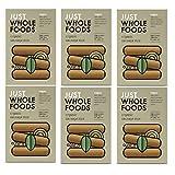 Just Wholefoods Mezcla de salchichas orgánicas veganas – 125 g (Paquete de 6)