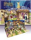 Grand calendrier de l'Avent pop-up des Santons de Provence - Avec son livret d'accompagnement