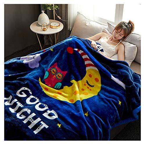 Couverture 3 kg épais Confortable Souple sans Nap Lint-t-fanent Pas sûr et sain Little (Color : 11)