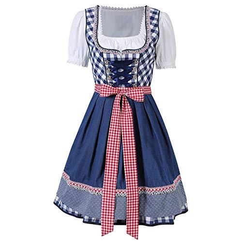pequeño y compacto Trajes de mujer con faldas fruncidas Trajes tradicionales tiroleses para fiestas de cerveza alemanas …