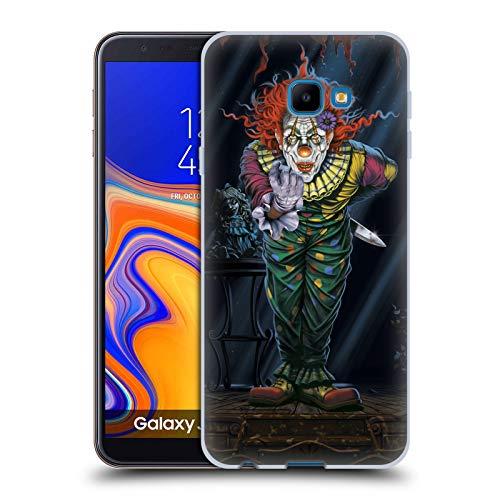 Offizielle Vincent HIE Ueberraschung Clown Gemischte Designs Soft Gel Huelle kompatibel mit Samsung Galaxy J4 Core