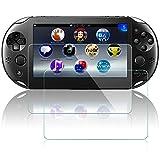 Protectores de Pantalla para Sony PlayStation Vita 2000, AFUNTA 2 Paquetes Vidrio Templado Película...