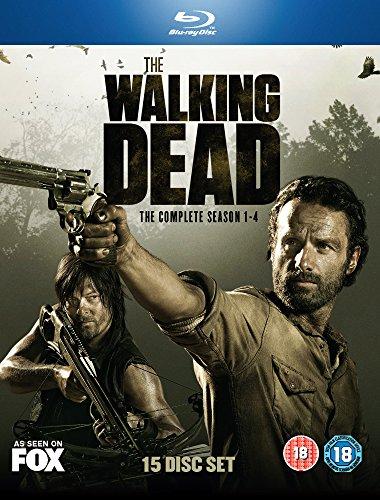 The Walking Dead - Seasons 1-4 [Blu-ray]