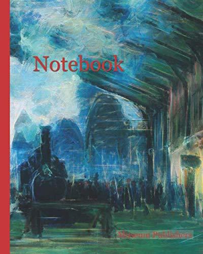 Notebook: Arrival of the Normandy Train, Gare Saint-Lazare, 1877, Claude Monet