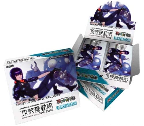 Force Luxury of wholesale Will Ghost in The Shell Box SAC_2045 - 20 Booster Packs