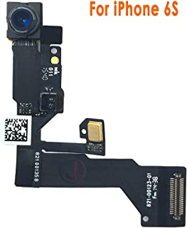 Johncase New OEM 5MP Front Facing Camera Module w/Proximity Sensor + Microphone Flex Cable Replacement Part Compatible for iPhone 6s (All Carriers)