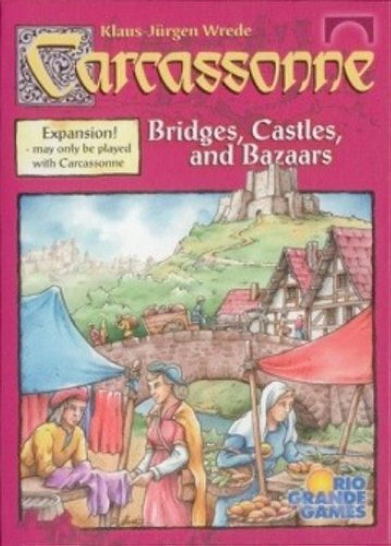 Rio Grande Games RGG419 Carcassonne Bridges, Castles and Bazaars