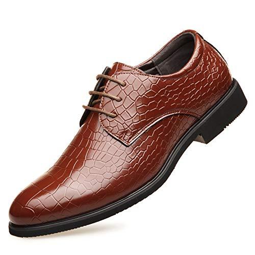 The only Good Quality nieuwigheid Oxford business jurk van echt leer schoenen heren lage hak ademend slip op krokodillenreliëf Britse banket bruiloftsschoenen bruiloft feest
