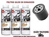 KIT TAGLIANDO OLIO MOTORE IPONE + FILTRO OLIO LIGIER NOVA (LDW502 DIESEL) 500 00/