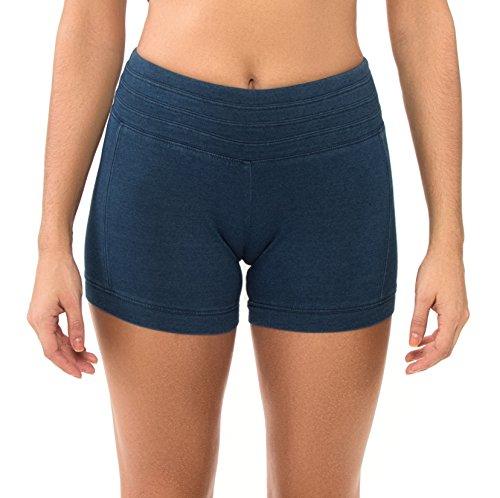 Body Glove Damen Fresh Denim Shorts Bikini, blau, S