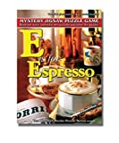 TDC Games Alphabet Mystery Puzzle - E is for Espresso