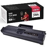 LEMERO Toner Compatible para HP 106A W1106A Toner [Con Chip] para HP Laser MFP 135a 135w 135r 137fnw HP Laser 107a 107w 107r