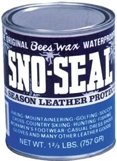 Atsko Sno-Seal Original Beeswax Waterproofing (1-Quart Can)