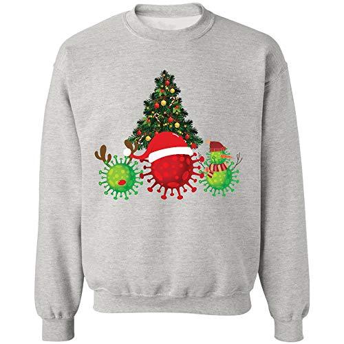 Morgan Schai Cov.i.d Co.Ron.avi.r.us with Santa Hat Sweatshirt,Gifts