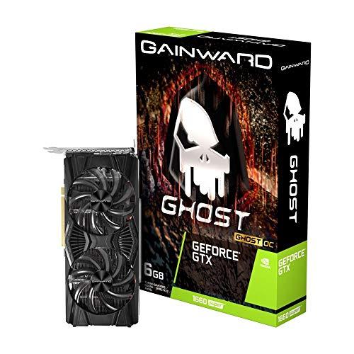Placa de Vídeo NVIDIA GeForce GTX 1660 SUPER Ghost OC 6GB GDDR6 PCIe 3.0 NE6166SS18J9-1160X GAINWARD