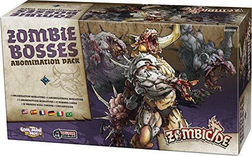 Asmodee – Brettspiel / Spielfiguren – Zombicide Black Plague