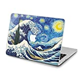 Lex Altern Hard Case for Apple MacBook Pro 15 Air 13 inch Mac Retina 12 11 2020 2019 2018 2017 2016 Protective Cover Famous Laptop Women Great Wave Off Kanagawa Art Design Printed Blue Shell Starry