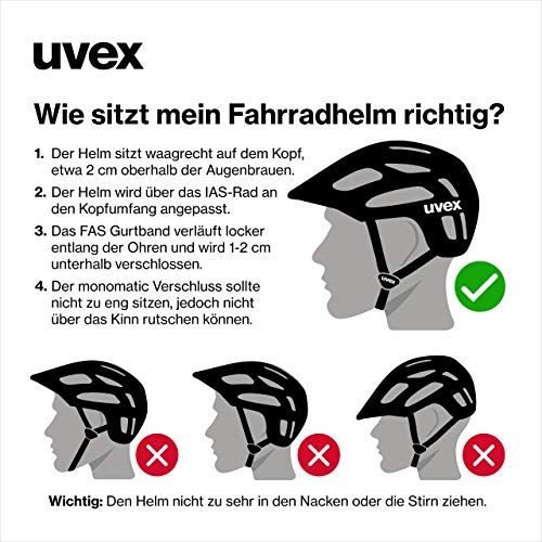 Uvex I-VO CC Fahrradhelm Herren - 4