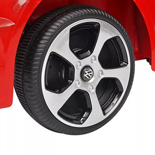 RC Auto kaufen Kinderauto Bild 6: SENLUOWX Kinderauto Elektroauto VW Golf GTI 7 rot 12 V Kinderfahrzeug Kinderauto mit Fernbedienung*