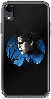 Compatible for iPhone Xs Max Scissored Gentleman Romantic Dark Fantasy