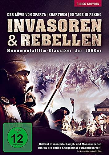 Invasoren & Rebellen - Monumentalfilm-Klassiker der 1960er, 3 DVD