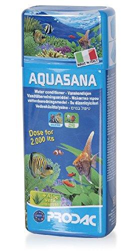 Prodac Aquasana con aloevera- acondicionador de agua para acuarios 250