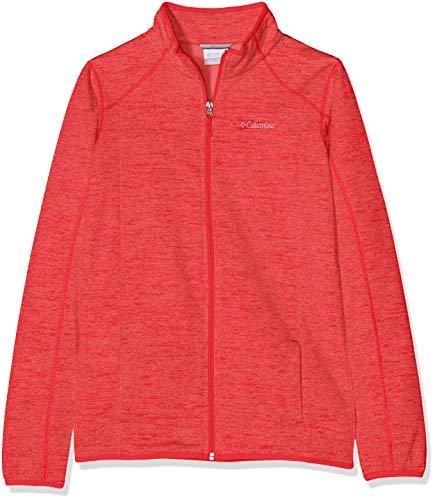 Columbia kurtka polarowa dla dzieci, Wilderness Way Fleece Jacket, poliester, 1733631 Rot (Red Camellia) XXS