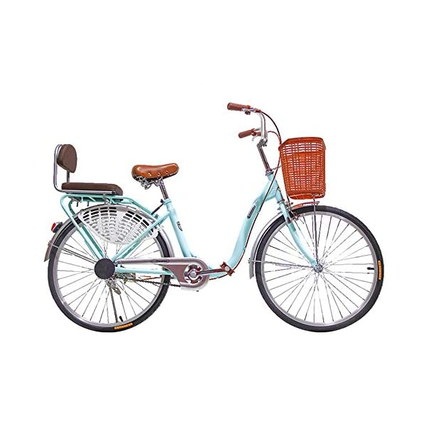 Folding Bikes S.N S Bicycle Women's Lightweight Adult City Student Commuter Car 26 Inch Single Speed [tag]