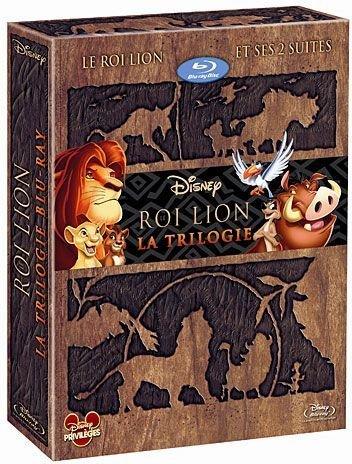 Le Roi Lion-Intégrale-3 Films [Édition Prestige]