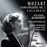 Mozart : Concertos pour piano, vol. 2. McDermott, Montgomery, Varga, Delfs.